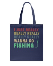 Wanna go fishing QQ26 Tote Bag thumbnail
