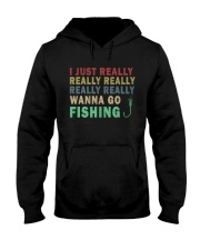 Wanna go fishing QQ26 Hooded Sweatshirt thumbnail