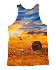 I Love The Peace And Quiet In The Country HV9 All-over Unisex Tank back