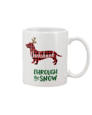 Dachshund Through The Snow HT10 Mug thumbnail