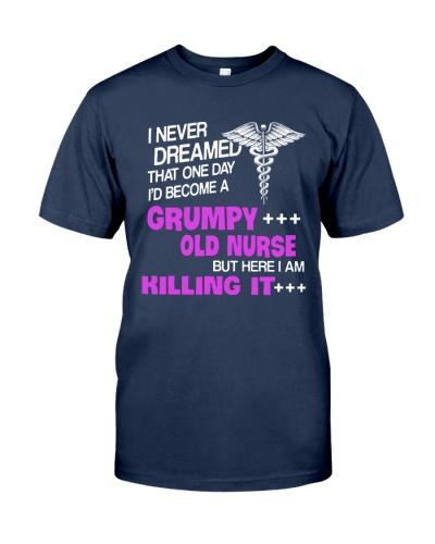 Grumpy old nurse TR12