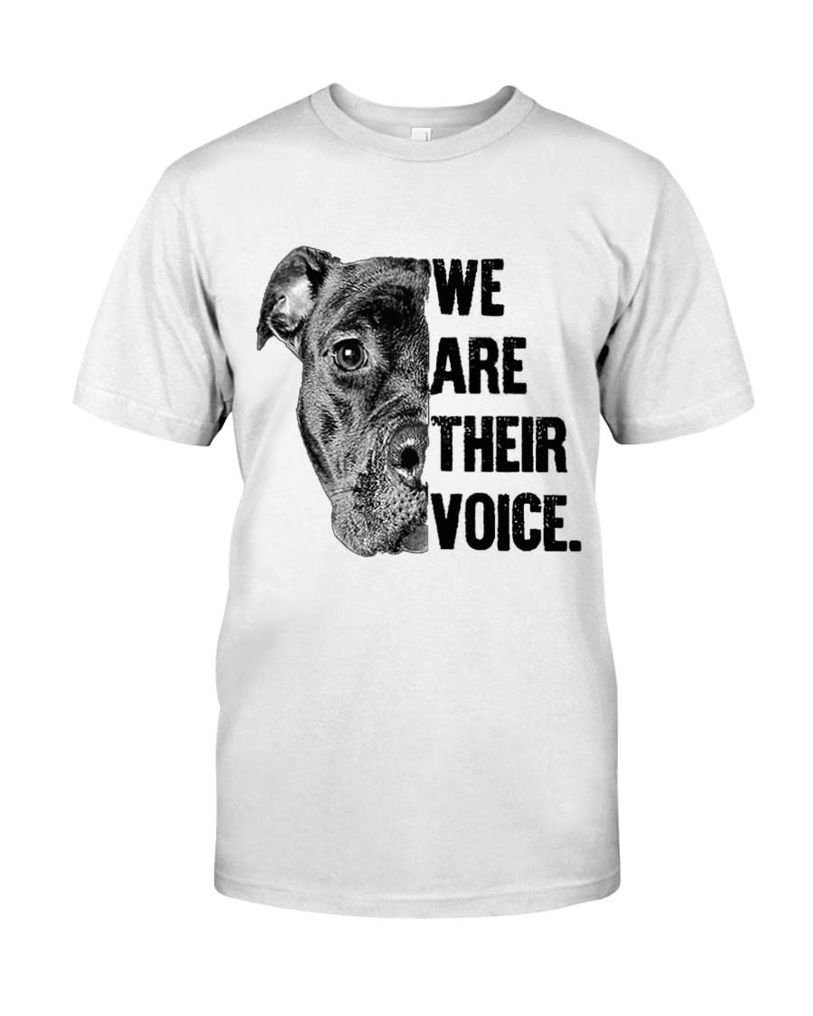 We are their voice TM99 Classic T-Shirt