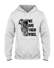 We are their voice TM99 Hooded Sweatshirt thumbnail