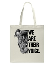 We are their voice TM99 Tote Bag thumbnail