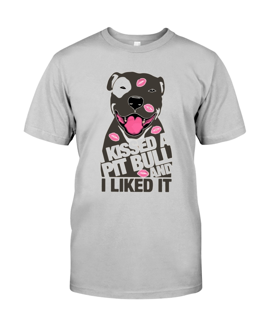 Kiss a pitbull TM99 Classic T-Shirt