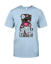 Kiss a pitbull TM99 Classic T-Shirt tile