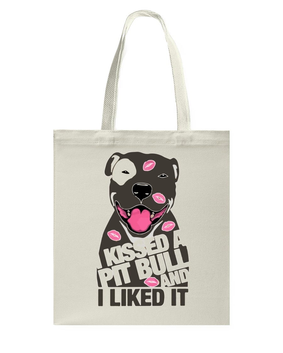Kiss a pitbull TM99 Tote Bag