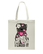 Kiss a pitbull TM99 Tote Bag thumbnail