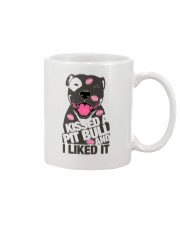 Kiss a pitbull TM99 Mug thumbnail