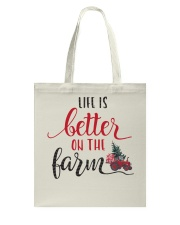 Life Is Better On The Farm NO96 Tote Bag thumbnail
