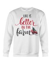 Life Is Better On The Farm NO96 Crewneck Sweatshirt front