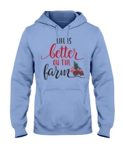 Life Is Better On The Farm NO96 Hooded Sweatshirt thumbnail