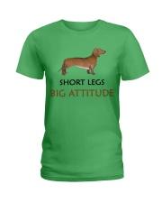 Short Legs Big Attitude AQ55 Ladies T-Shirt thumbnail