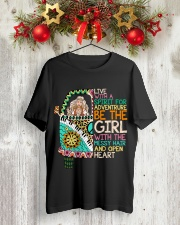 Hippie Girl NO96 Classic T-Shirt lifestyle-holiday-crewneck-front-2