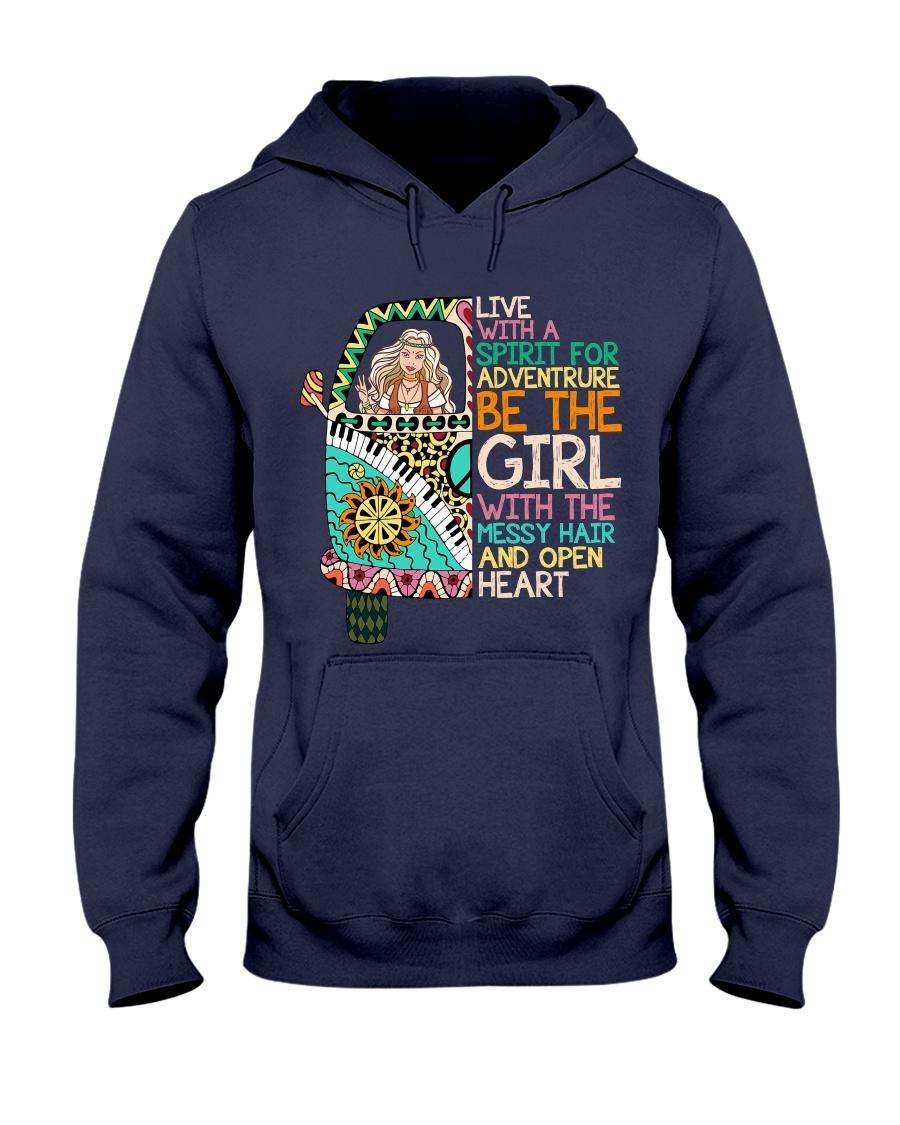 Hippie Girl NO96 Hooded Sweatshirt