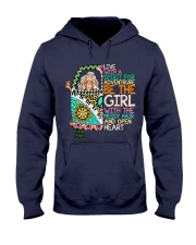 Hippie Girl NO96 Hooded Sweatshirt thumbnail