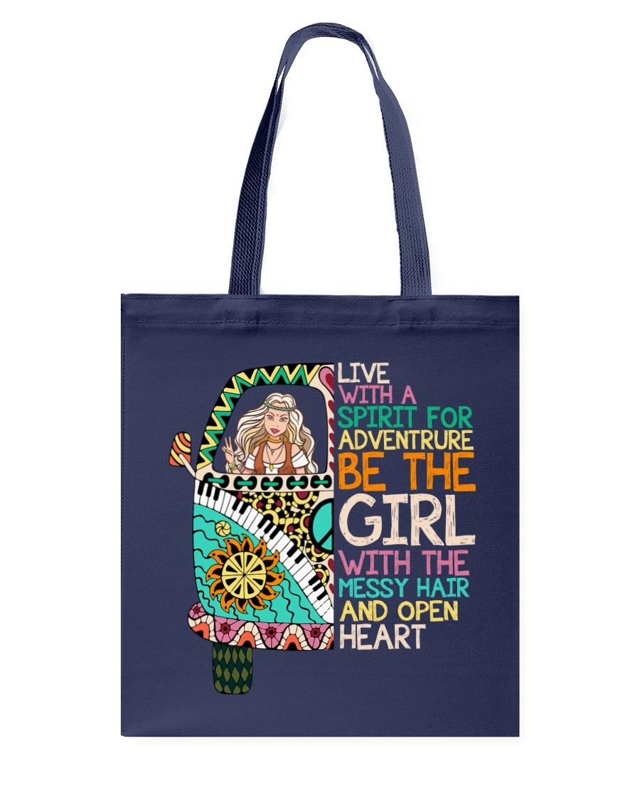 Hippie Girl NO96 Tote Bag