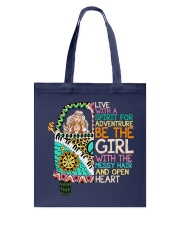 Hippie Girl NO96 Tote Bag thumbnail