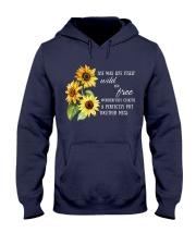 Wild Flower No96 Hooded Sweatshirt thumbnail