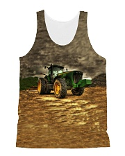 Tractor LA03 All-over Unisex Tank front