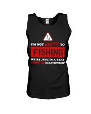 I'm Not Addicted to Fishing LA03 Unisex Tank thumbnail