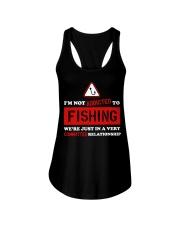 I'm Not Addicted to Fishing LA03 Ladies Flowy Tank thumbnail