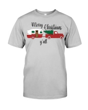 Merry Christmas Y'all TT99 Classic T-Shirt front