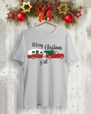 Merry Christmas Y'all TT99 Classic T-Shirt lifestyle-holiday-crewneck-front-2