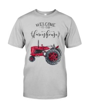 Welcome To Our Farmhouse TT99 Classic T-Shirt front