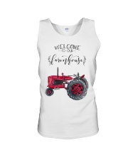 Welcome To Our Farmhouse TT99 Unisex Tank tile
