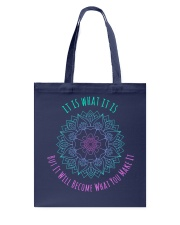 It is what it is QQ26 Tote Bag thumbnail
