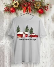 Home For The Holiday TT99 Classic T-Shirt lifestyle-holiday-crewneck-front-2