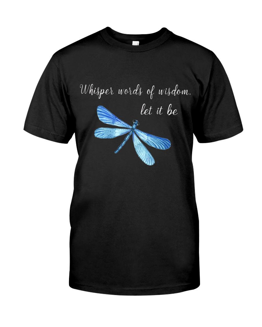 Whisper words of wisdom let it be QQ26 Classic T-Shirt