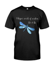 Whisper words of wisdom let it be QQ26 Classic T-Shirt front