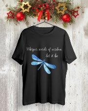 Whisper words of wisdom let it be QQ26 Classic T-Shirt lifestyle-holiday-crewneck-front-2