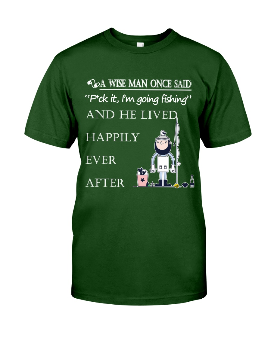 A Wise Man Once Said - DM07 Classic T-Shirt