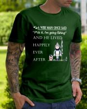A Wise Man Once Said - DM07 Classic T-Shirt lifestyle-mens-crewneck-front-7