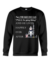 A Wise Man Once Said - DM07 Crewneck Sweatshirt thumbnail