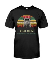 Cat Mom TM99 Classic T-Shirt tile