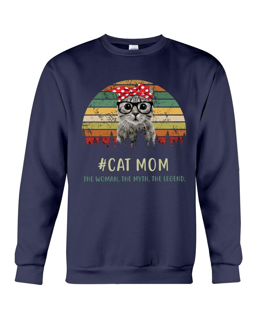 Cat Mom TM99 Crewneck Sweatshirt