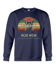 Cat Mom TM99 Crewneck Sweatshirt tile