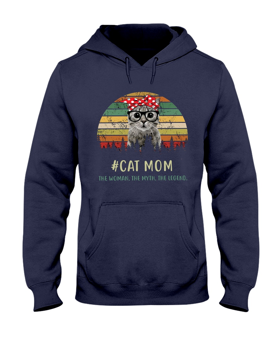 Cat Mom TM99 Hooded Sweatshirt