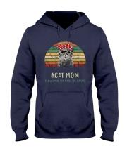 Cat Mom TM99 Hooded Sweatshirt front