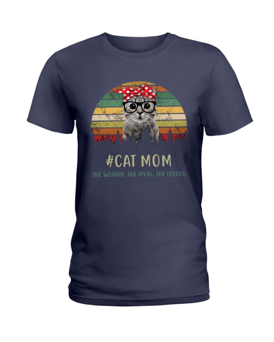Cat Mom TM99 Ladies T-Shirt