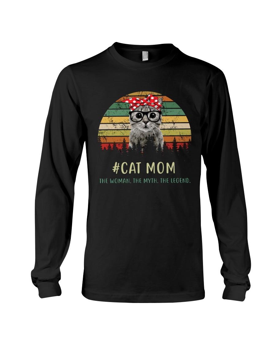 Cat Mom TM99 Long Sleeve Tee