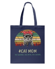 Cat Mom TM99 Tote Bag thumbnail