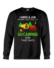I Need A Job VD14 Crewneck Sweatshirt thumbnail