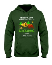 I Need A Job VD14 Hooded Sweatshirt thumbnail