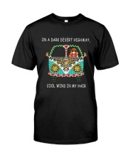 On a dark desert highway QQ26 Classic T-Shirt thumbnail