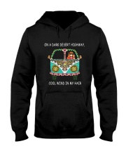 On a dark desert highway QQ26 Hooded Sweatshirt thumbnail
